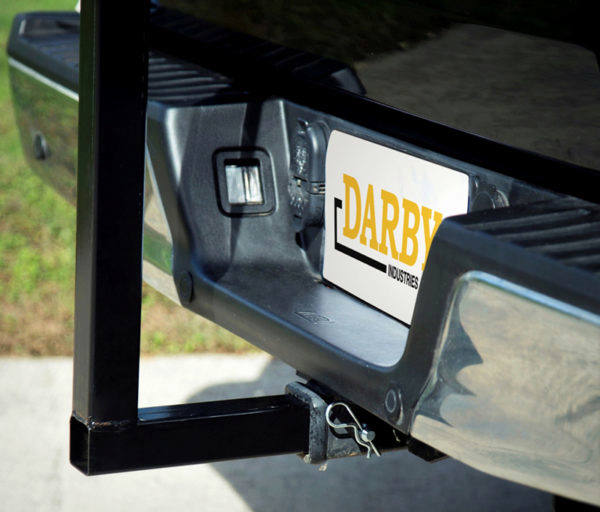 "The Extend-A-Truck fits any 2"" receiver hitch."