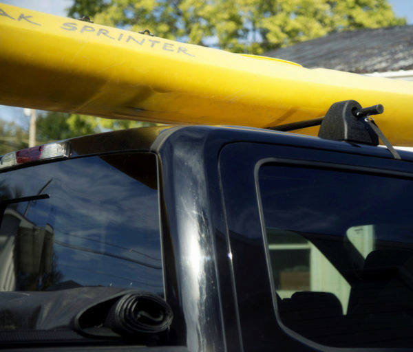 The Turbo Rack helps to safely haul your canoe or kayak.